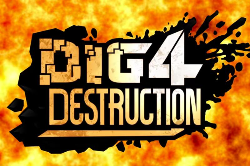 【VR】Dig 4 Destruction TRAILER